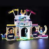 BRIKSMAX Kit di Illuminazione a LED per Lego Friends La Gara di Equitazione di Stephanie, Compatibile con Il Modello Lego 41367 Mattoncini da Costruzioni - Non Include Il Set Lego