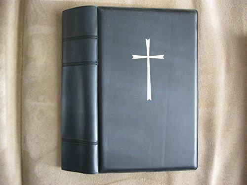 Gebetbuchhülle katholisch PVC wattiert schwarz für das neue Gotteslob