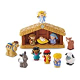 Mattel BLV77, Fisher Price, Little People nativity play set, stationary.