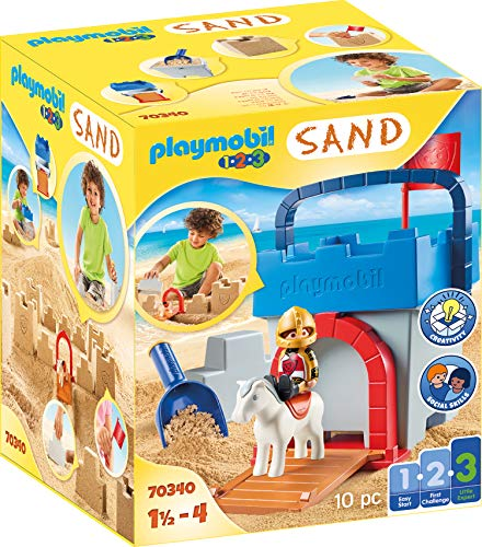 PLAYMOBIL-1.2.3 Sand 70340 Kreativset