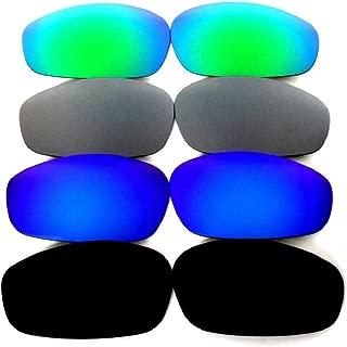 Galaxy lenses For Oakley Split Jacket Polarized Black/Blue/Titanium/Green