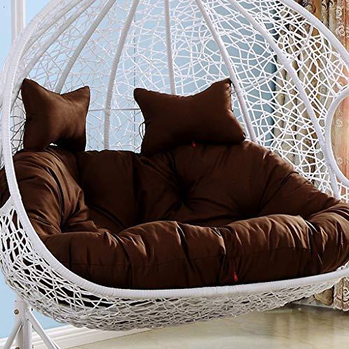GDYZDI schommelstoel kussen, dikke nest enkele mand opknoping ei hangstoel kussens verwijderbaar wasbaar Eén maat n