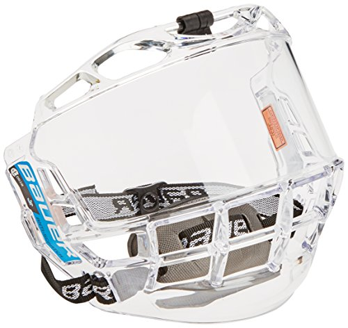 Bauer Kinder Visier für Eishockeyhelm Concept III-Full Visors-Junior, Clear, One size