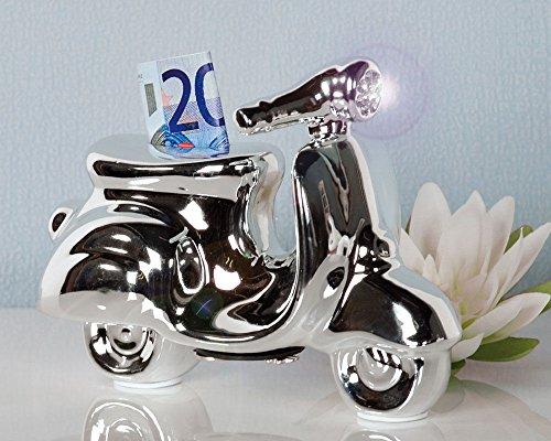 Spardose Roller Moped Mofa Führerschein Sparschwein