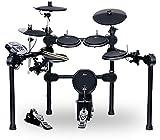 [page_title]-XDrum DD-520 E-Drum Set (elektronisches Schlagzeug, mit Sticks & Fußmaschine, Kopfhörer-Anschluss, 458 Sounds)