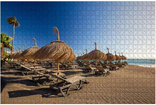 Rompecabezas Vista de Masca Village Tenerife Islas Canarias España para niños Adultos Juego educativo Rompecabezas Juguetes DIY, 500 piezas 52 * 38 cm