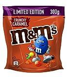 M&M's | Crunchy Caramel | Schokolinsen mit Karamellkern | Eine Packung (1 x 300 g), 380590_01