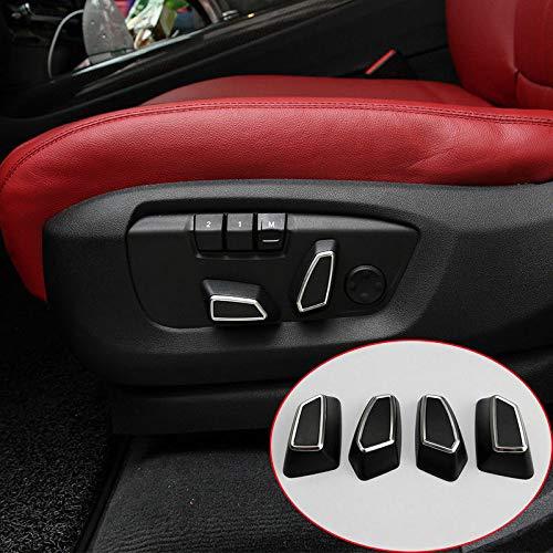 4 Seat Adjustment Button Cover Trim for BMW 1 3 4 5 Series X3 f25 X5 f15 X6 f16