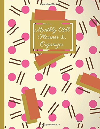 Monthly Bill Planner and Organizer- Betula: Budget Planning, Financial Planning Journal, Balance Budget (Bill Tracker, Expense Tracker, Home Budget book/Extra Large)