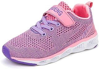 MOERDENG Kids Water Shoes Breathable Slip-on Sneakers for Running Pool Beach [並行輸入品]