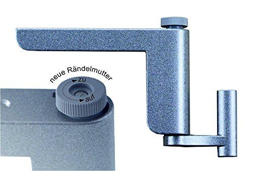 Clip-Close Türschließer V3 - Der clipclose Minitürschließer in Silber - Einfache Montage ohne Bohren oder Schrauben (2)