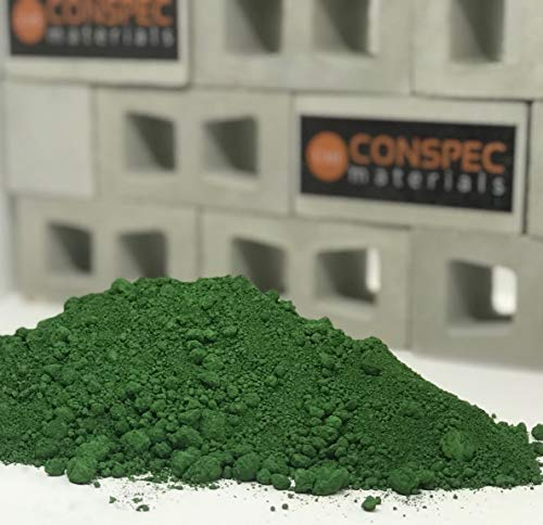 Conspec 1 Lbs. Irish Green Powdered Color for Concrete, Cement, Mortar, Grout, Plaster, Colorant, Pigment
