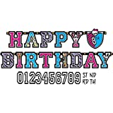 Jumbo Add-An-Age Letter Banner | Monster High Collection | Birthday
