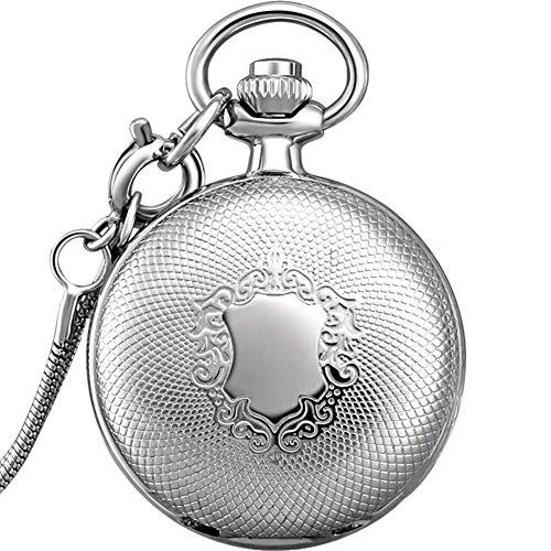Reloj de bolsillo, reloj de bolsillo para estudiantes, reloj de enfermera, collar para colgar mesa mesa mesa mesa retro Flip pecho Shiying Huai mesa mesa