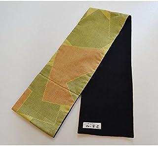 マフラー カシミヤ ロロピアーナ コンパクトサイズ 着物 大島紬 メンズ・レディース 和風 紬 maf-c05