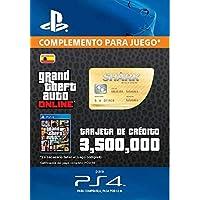 Grand Theft Auto Online - GTA V Cash Card | 3,500,000 GTA-Dollars | Código de descarga PS4 - Cuenta Española