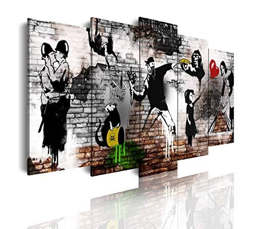 DekoArte 543 - Cuadros Modernos Impresión de Imagen Artística Digitalizada | Lienzo...