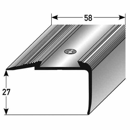 couleur: bronze fonc/é Stratifi/é-Nez de marche // corni/ère pour escaliers for/é Aluminium anodis/é 33 mm de largeur 20 m/ètres 8,5 mm de haut 20 x 1 m
