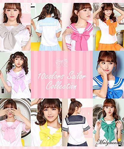 Malymoonセーラー服コスチュームコスプレMサイズビビットピンク衣装レディース