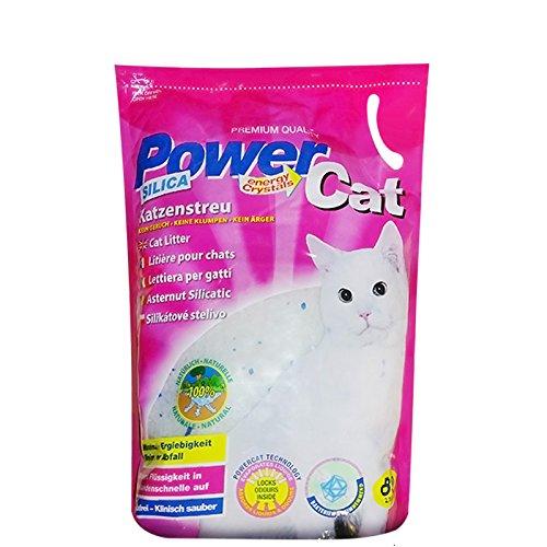 Power Cat Silikat-Katzenstreu