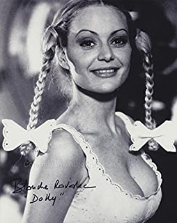 BLANCHE RAVALEC as Dolly - James Bond: Moonraker GENUINE AUTOGRAPH
