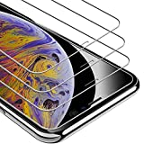 ToneGod Screen Protector for iPhone 11 Pro Max, iPhone Xs Max (6.5-Inch),【3-Pack】 High-Definition Tempered Glass Screen Protector Film [Scratch Resistant] [Case Friendly]