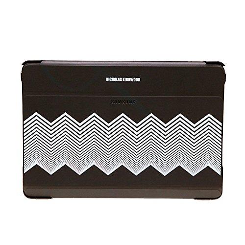 SAMSUNG Diary Tasche Kirkwood Schwarz + Chevron EF-EP900BBEGWW Galaxy Note Pro 12.2