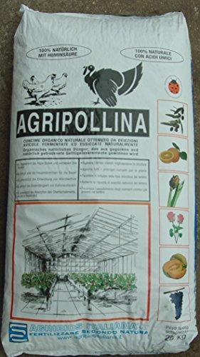 Agribios Agripollina Engrais Bio Naturel, 25 kg