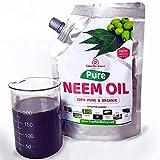 Casa De Amor Organic Cold Pressed, Essential Pure Neem Oil for Spray On Plants & Garden 200 ML