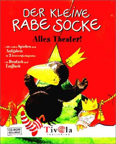 Der kleine Rabe Socke. Alles Theater. CD- ROM für Windows 95/98/2000/NT 4.0 und MacOS ab 8.1.