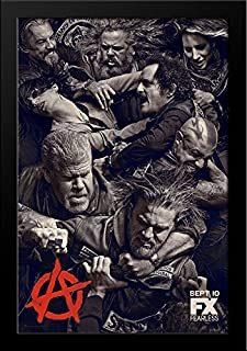sons of anarchy framed poster