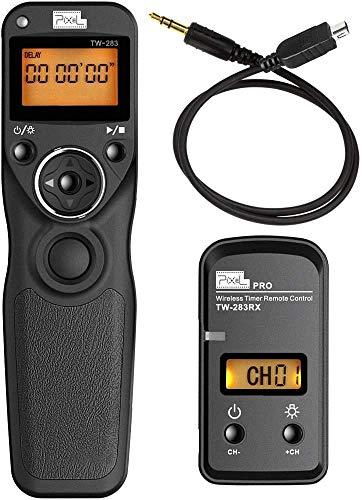 Pixel Timer Shutter Release Remote Control TW283-DC2 Remote Release for Nikon D5600 D3100 D3200 D3300 D5000 D5100 D5200 D5300 D5500 D90 D7000 D7100 D7500 D600 D610 D750 Z6 Z7
