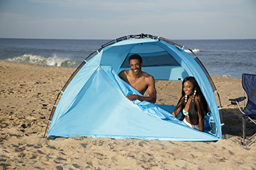Arcshell Premium Extra Large Pop Up Beach Tent UPF 50+