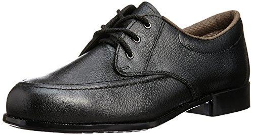 [ミドリ安全] 安全靴 JIS規格 L種 女性用 短靴 ML410 ブラック JP 25(25.0cm)