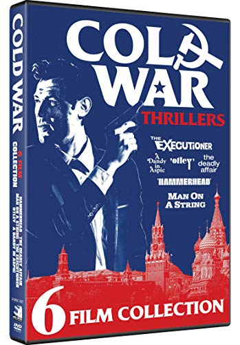 Cold War Thrillers - 6 Films - Man on a String, Deadly Affair, A Dandy in Aspic, Otley, Executioner, Hammerhead