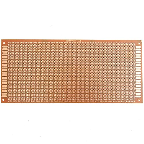 hgbygvuy 10pcs MK-6 10cm x 22 cm Prototipazione PCB PCB Stampato Circuito Stampato Prototipo Breadboard S