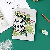 おしゃれな新しい ipad pro 11 2018 ケース 傷つけ防止 二つ折 開閉式 防衝撃デザイン 超軽量&超薄型 全面保護型 (iPad Pro11 インチ)新年と幸せな休日の素朴なリースベリーと常緑のイメージ