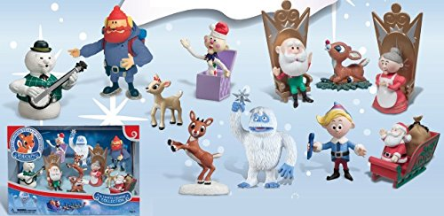 Round 2 / Forever Fun Rudolph The Red-Nosed Reindeer Ultimate Figurine Collection Classic Characters
