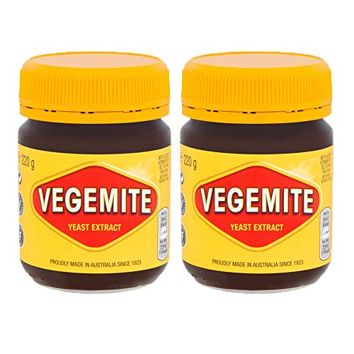 2 x 220g Yeast Extract Vegetarian Spread Dip Marinade Vitamin Folic Acid