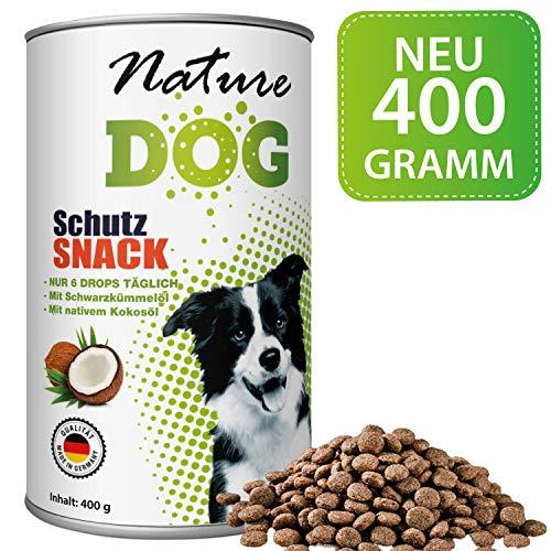 Bionic Nature Zeggi Schutz Snack für Hunde 400g, funktioniert mit Zeckenzange, Zeckenkarte, Zeckenschlinge, Zeckenpinzette, auch für Welpen und kleine Sensible Hunde