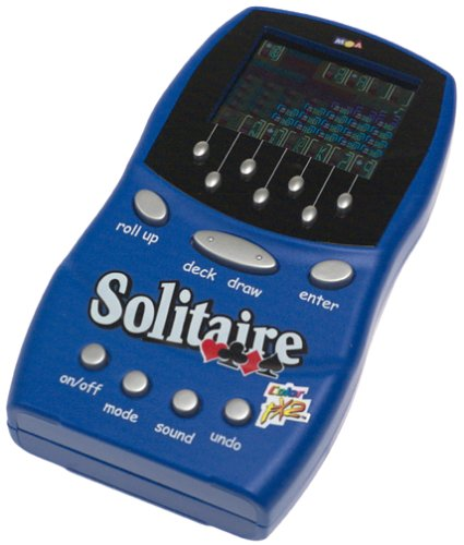 Color Fx II 4 In 1 Handheld Solitaire Game by MGA