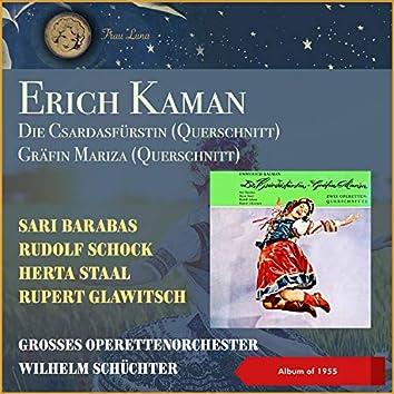 Erich Kaman: Die Csardasfürstin - Gräfin Mariza (Querschnitt) (EP of 1955)