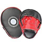 YOTIN Artigli Artigli Allenatore Artigli Artiglio Mano PU Kickboxing Boxe per Muay Thai Kickboxing Movimento Karate Taekwondo Arte Marziale 1 Paio