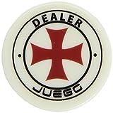 Juego Ju00150 - Gettone Dealer 6.5 X 6.5 X 2 Cm, 1 Pezzo Standard, Per Gioco da Tavolo e G...