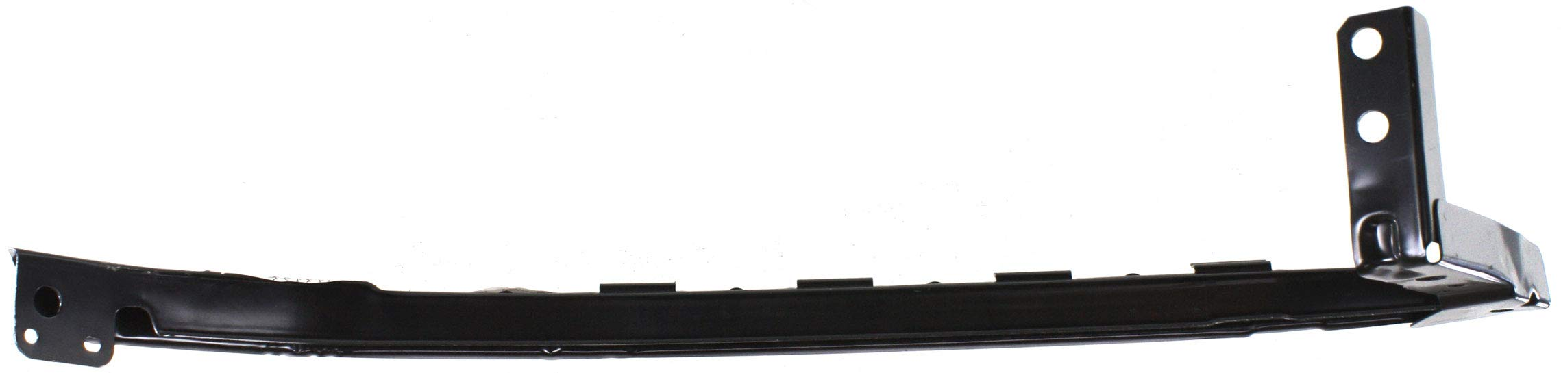 Evan-Fischer Front Bumper Filler Compatible with 2003-2007 Honda Accord Side Beam Coupe/Sedan Driver Side