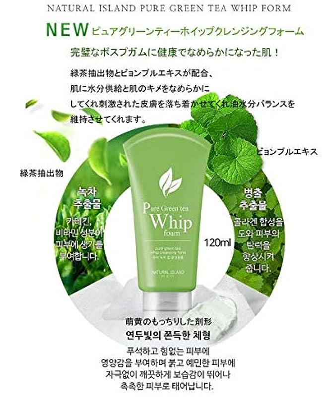 調整する会計厚さNATURAL ISLAND CLEANSING FOAM カスタムクレンジングフォーム Pure Green Tea