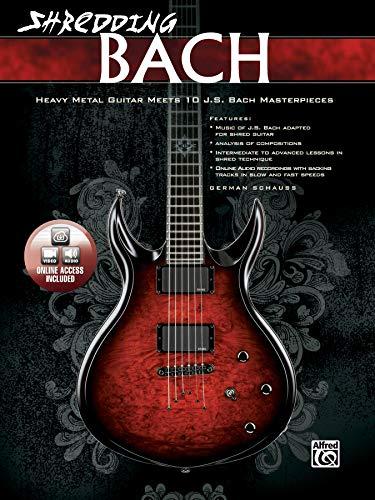 Shredding Bach - Heavy Metal Guitar Meets J.S. Bach Masterpieces (National Guitar Workshop)