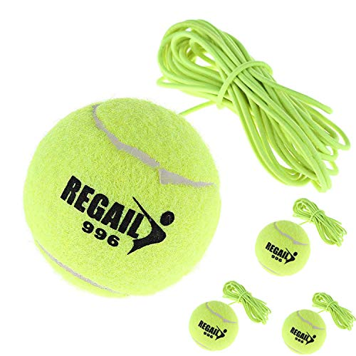 HINTER Tennis Ball with String Replacement Tennis Ball and Tether...
