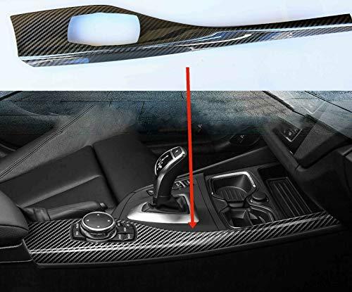 MAX CARBON ersatz für echt Carbon Vollcarbon Schaltknauf Mittelkonsole Dekorleisten für BMW F20 F21 F22 F87 M2 M135i M140i M235i M240i 125 120 220 225
