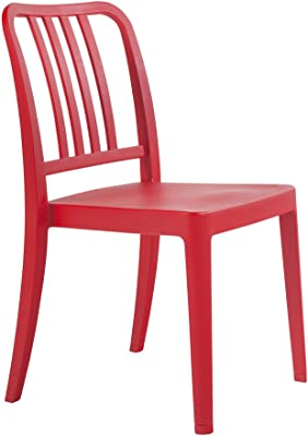PAPATYA Varia Chair, Set of 4 (Red)